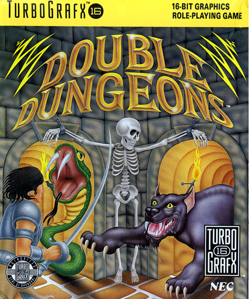 Double Dungeons Cover Artwork