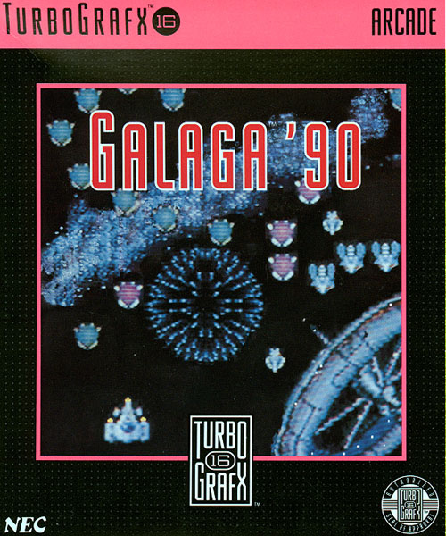Galaga '90 Cover Artwork