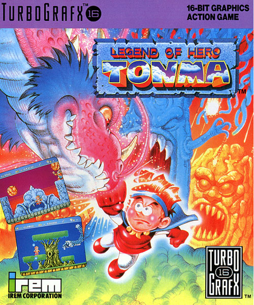 Legend of Hero Tonma Cover Artwork