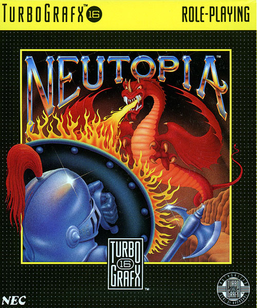 Neutopia Cover Artwork