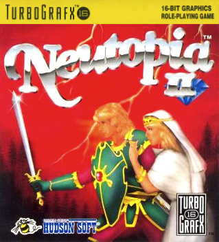Neutopia II Cover Artwork