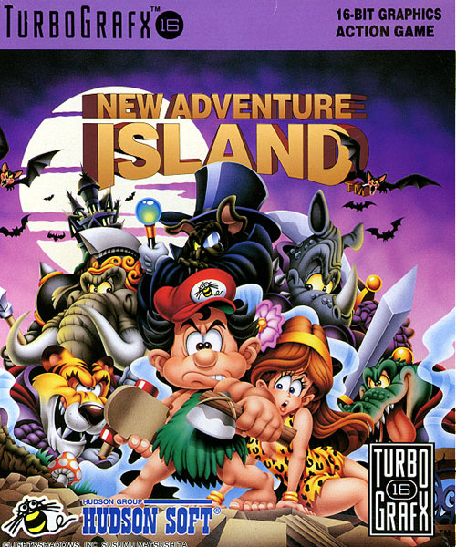 New Adventure Island Cover Artwork