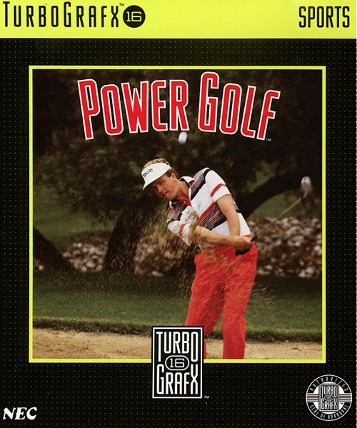 Power Golf Cover Artwork