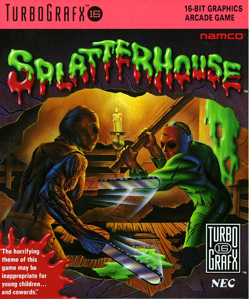 Splatterhouse Cover Artwork
