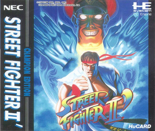 Street Fighter II': Champion Edition Cover Artwork