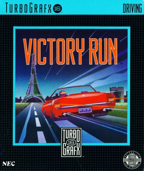 Victory Run Cover Artwork