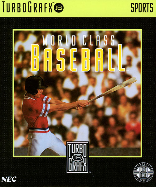World Class Baseball Cover Artwork