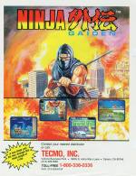 Ninja Gaiden Cover (Click to enlarge)