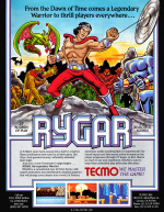 Rygar Cover (Click to enlarge)