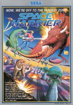Space Harrier Cover Artwork