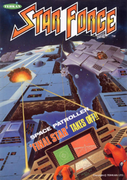 Star Force Cover Artwork