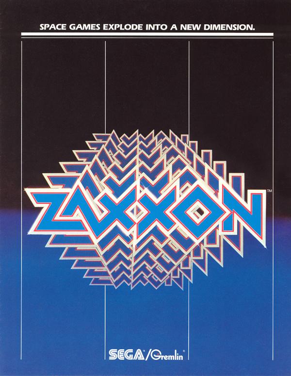 Zaxxon Cover Artwork