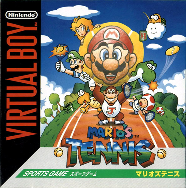 Mario's Tennis Cover Artwork