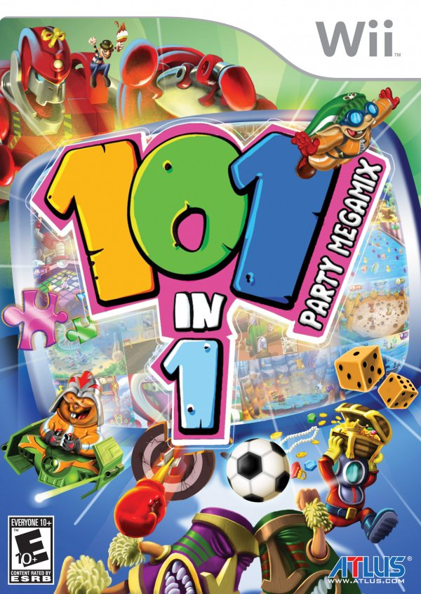 101-in-1 Party Megamix Cover Artwork
