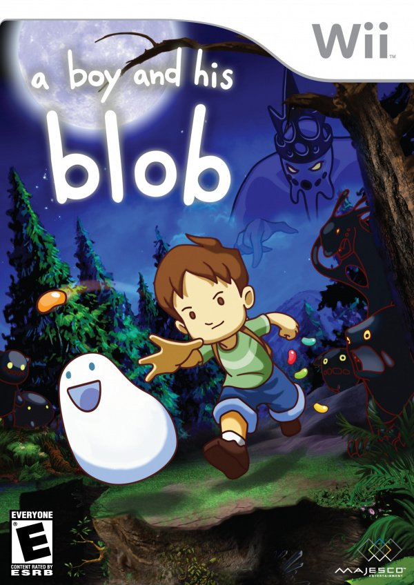 A Boy and His Blob Cover Artwork