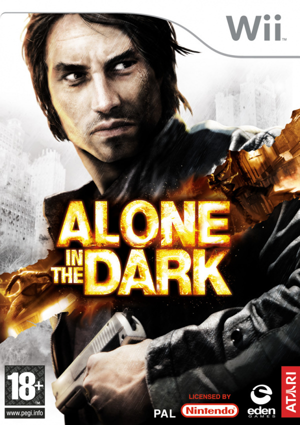 Alone in the Dark Cover Artwork