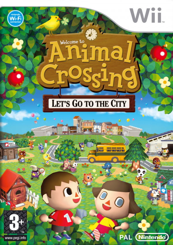 Animal Crossing: City Folk Cover Artwork