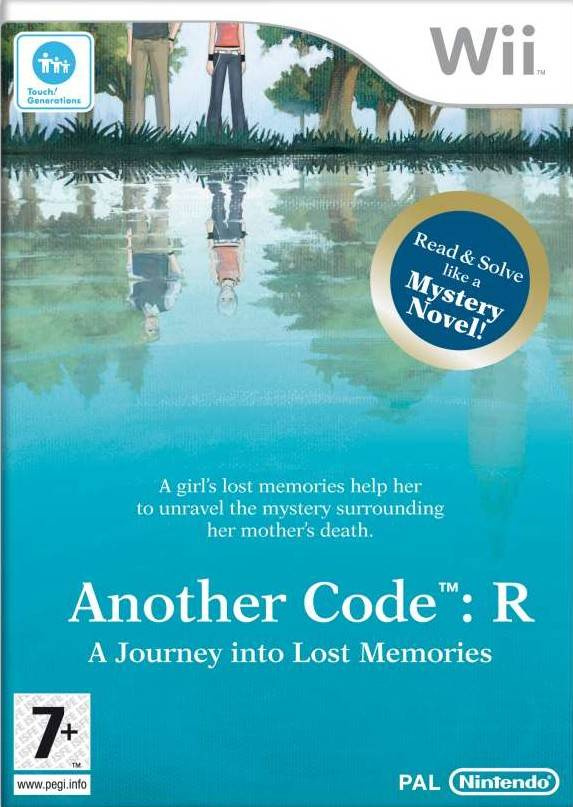 Another Code: R, A Journey Into Lost Memories Cover Artwork