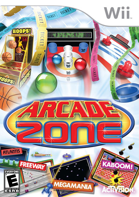 Arcade Zone Cover Artwork
