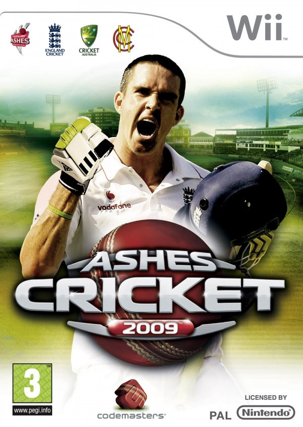 Ashes Cricket 2009 Cover Artwork