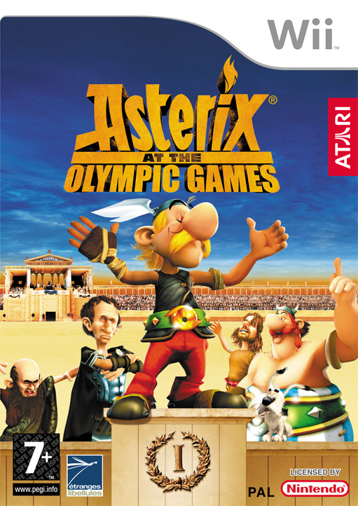 Asterix at the Olympic Games Cover Artwork