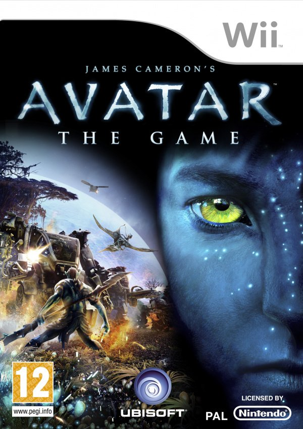 Avatar: The Game Cover Artwork