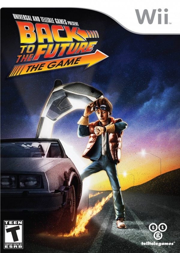 Back to the Future: The Game Cover Artwork