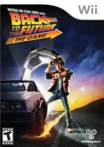 Back to the Future: The Game Cover (Click to enlarge)