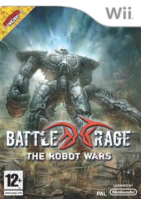 Battle Rage: The Robot Wars Cover Artwork