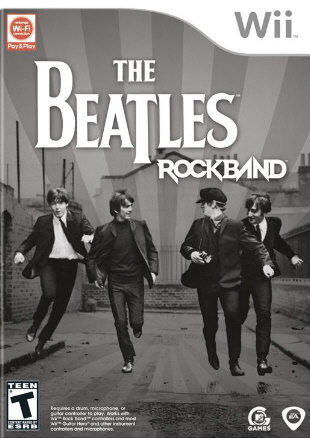 The Beatles: Rock Band Cover Artwork
