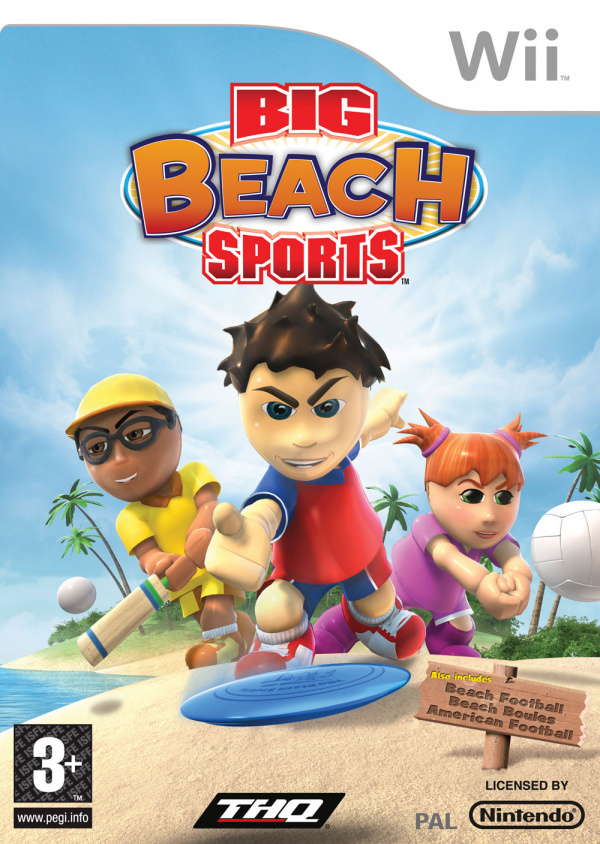 Big Beach Sports Cover Artwork