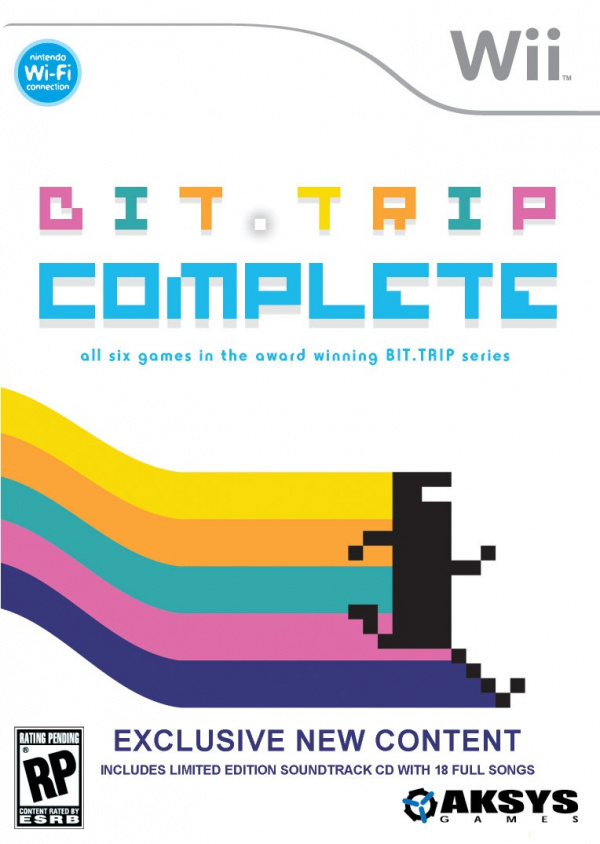 BIT.TRIP COMPLETE Cover Artwork