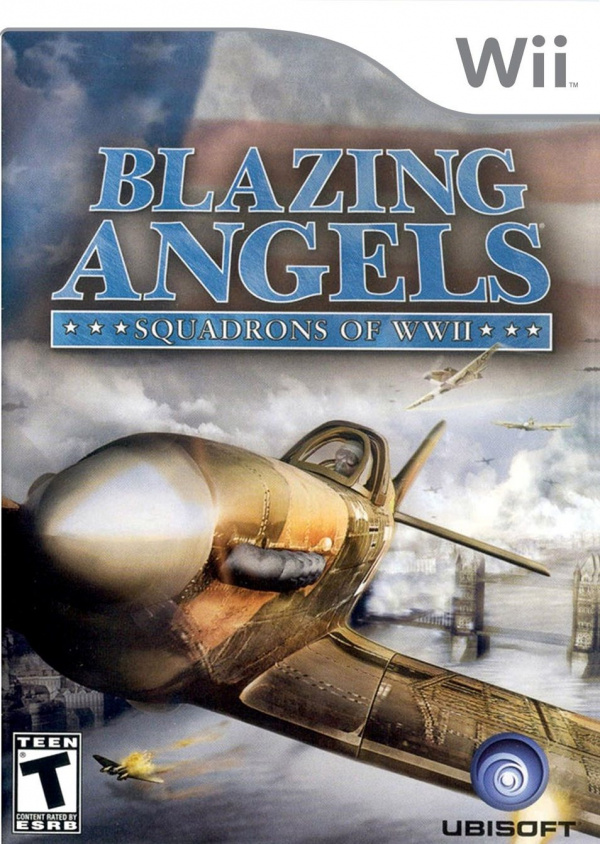 Blazing Angels: Squadrons of WWII Cover Artwork