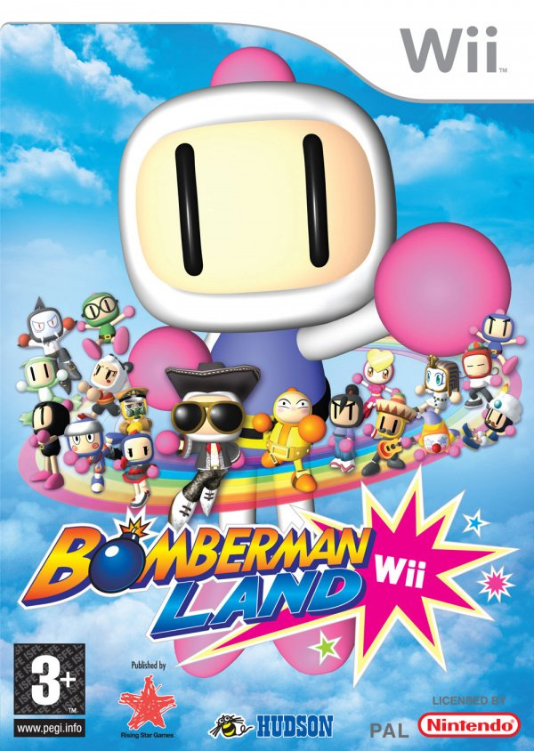 Bomberman Land Cover Artwork