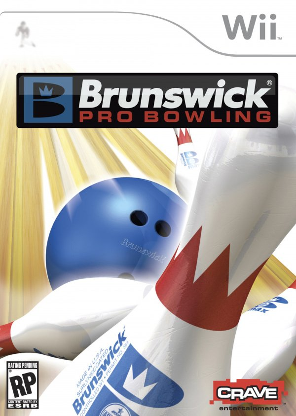 Brunswick Pro Bowling Cover Artwork