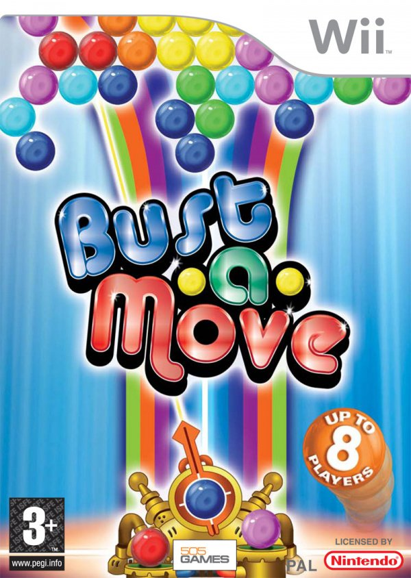 Bust-A-Move Bash! Cover Artwork