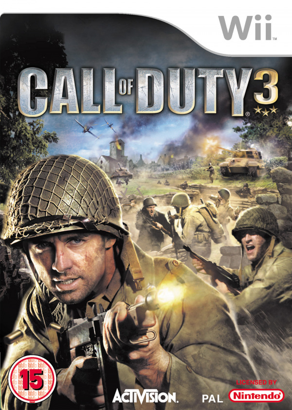 Call Of Duty 3 Cover Artwork