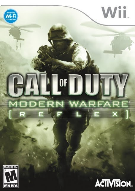 Call of Duty: Modern Warfare: Reflex Cover Artwork