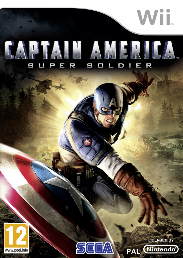 Captain America: Super Soldier Cover Artwork