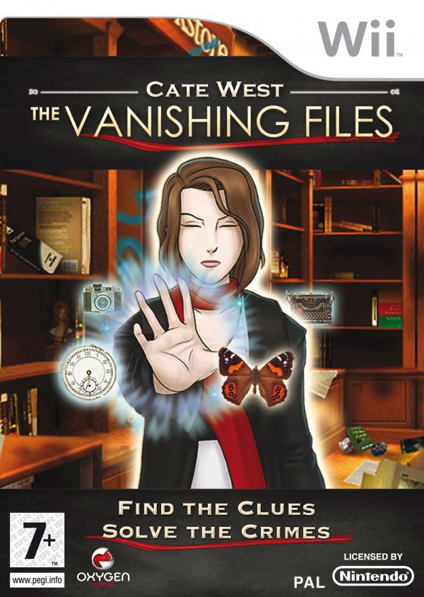 Cate West: The Vanishing Files Cover Artwork