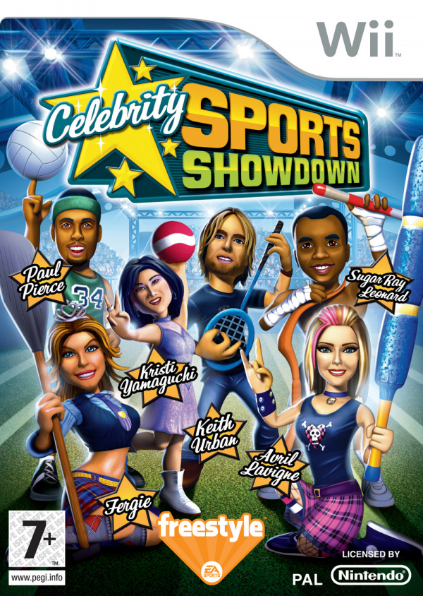 Celebrity Sports Showdown Cover Artwork