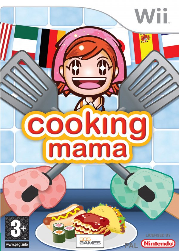 Cooking Mama: Cook Off Cover Artwork