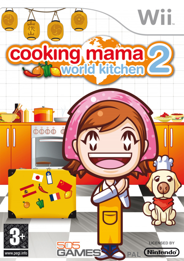 Cooking Mama: World Kitchen Cover Artwork