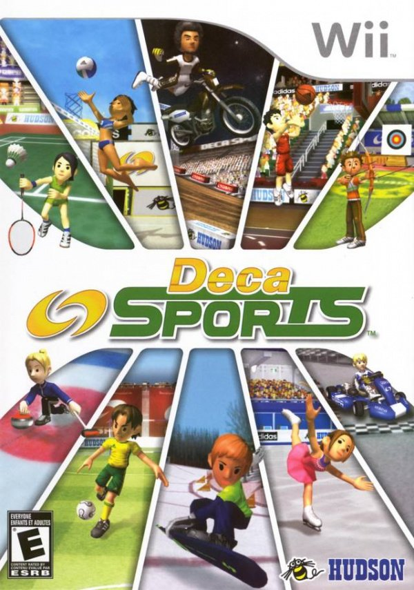 Deca Sports Cover Artwork