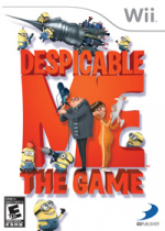 Despicable Me: The Game Cover (Click to enlarge)