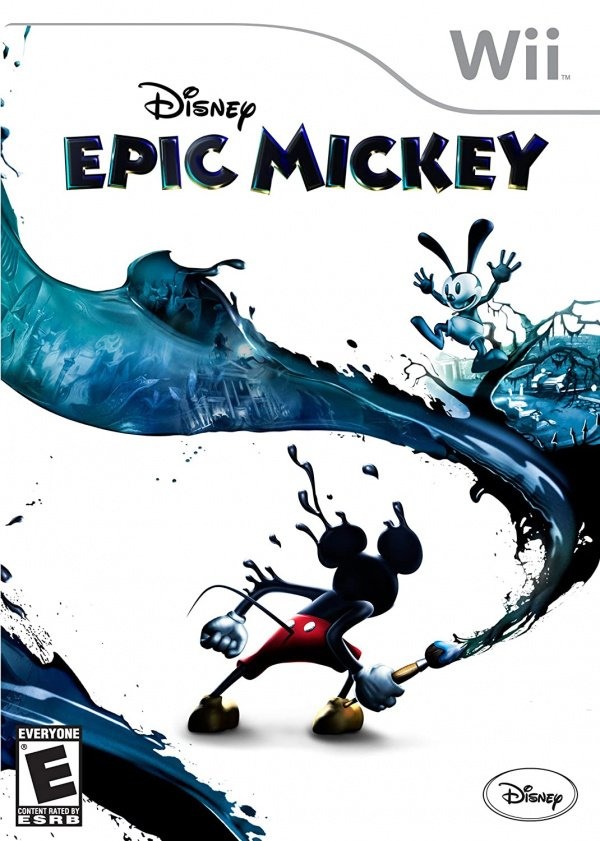 Disney Epic Mickey Cover Artwork