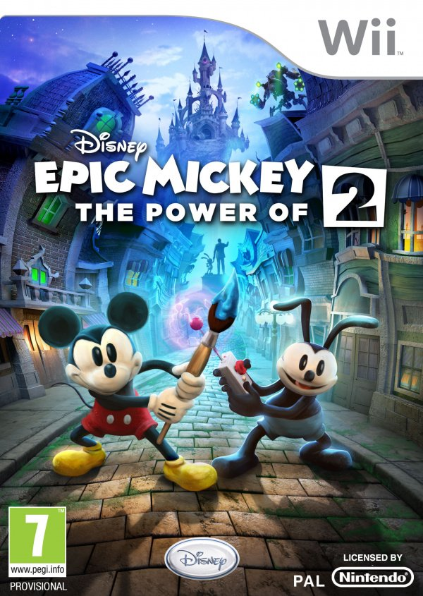 Disney Epic Mickey 2: The Power of Two Cover Artwork
