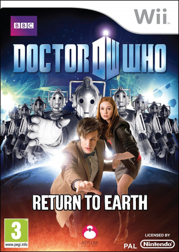 Doctor Who: Return to Earth Cover Artwork