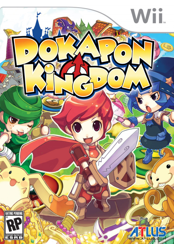 Dokapon Kingdom Cover Artwork