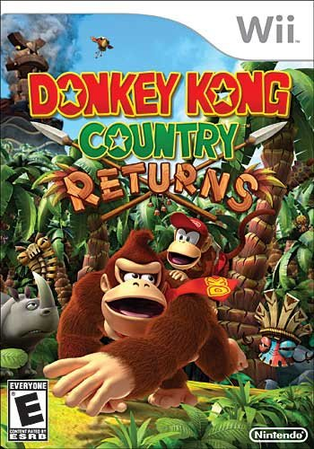 Donkey Kong Country Returns Cover Artwork